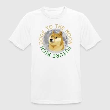 DOGE TO THE MOON - Men's Breathable T-Shirt