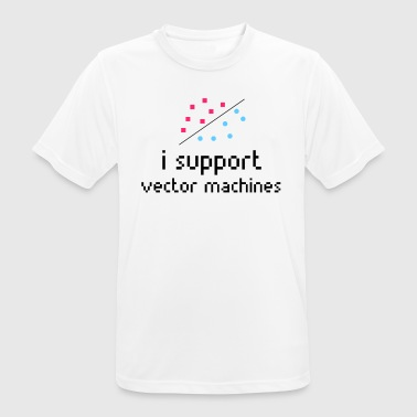 Machine Learning, Support Vector Machine - Men's Breathable T-Shirt