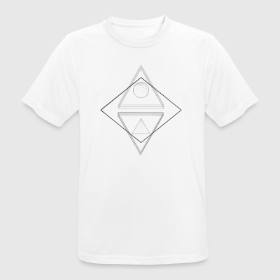 triangle - T-shirt respirant Homme