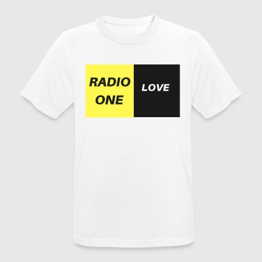 RADIO ONE LOVE - Herre T-shirt svedtransporterende