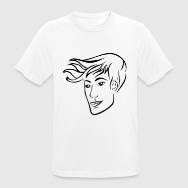 homme coiffure - T-shirt respirant Homme
