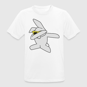 dabbing Easter Bunny - Men's Breathable T-Shirt