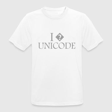 I? Unicode - Men's Breathable T-Shirt