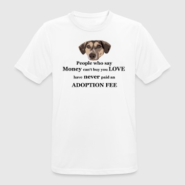 TS adoption fee - Männer T-Shirt atmungsaktiv