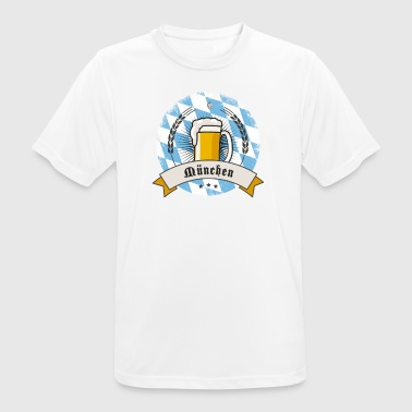 Oktoberfest Munich showed beer Bayern Party trink - Men's Breathable T-Shirt