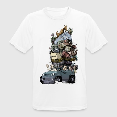 Road trip - Men's Breathable T-Shirt
