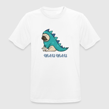 Wau wau (barro amasado) - Idea de regalo - Camiseta hombre transpirable