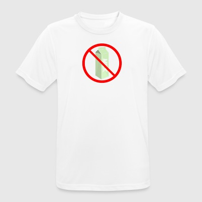 Stop The Intolerance - Camiseta hombre transpirable