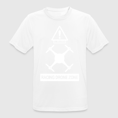racingdrone wite - T-shirt respirant Homme