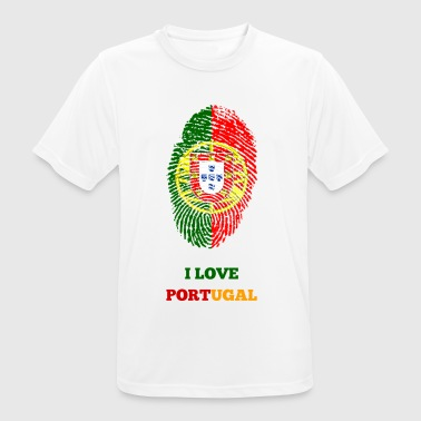 I LOVE PORTUGAL - Men's Breathable T-Shirt