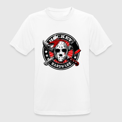 Hockey Blood - Andningsaktiv T-shirt herr