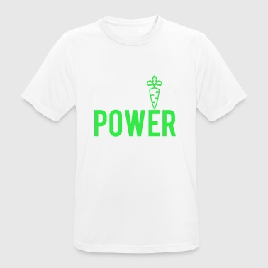 VEGGIE POWER - Men's Breathable T-Shirt