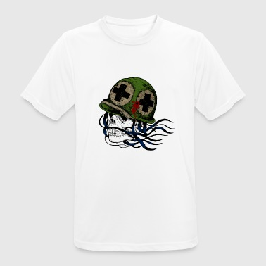 Skull Soldier Military Bundeswehr Gift - Men's Breathable T-Shirt