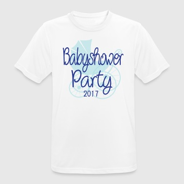 Baby Shower Party 2017 - Andningsaktiv T-shirt herr