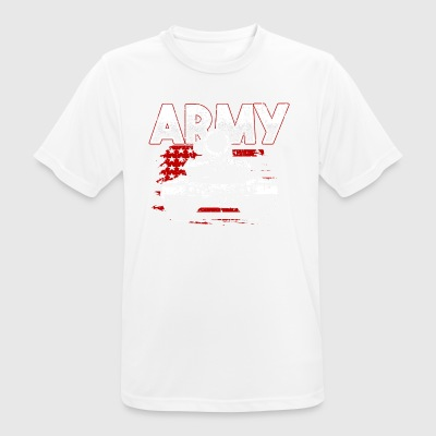 Soldier! Army! Military! Patriot! - Men's Breathable T-Shirt