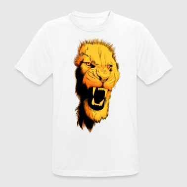 lion design color - Men's Breathable T-Shirt