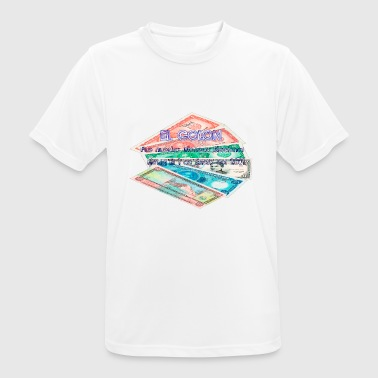 El Colon Antigua Moneda Salvadoreña - Camiseta hombre transpirable