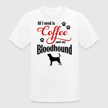 Bloodhound Coffee - Men's Breathable T-Shirt