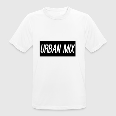 URBAN MIX - mannen T-shirt ademend