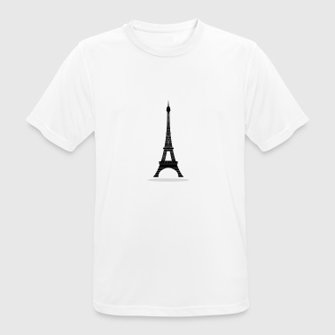 Eiffel Tower - Men's Breathable T-Shirt