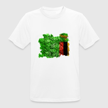 Zambia vintage flag - Men's Breathable T-Shirt