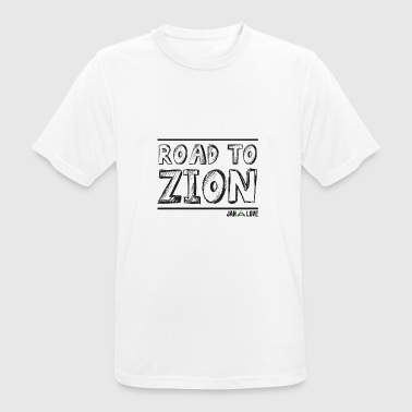 Road To Zion - Herre T-shirt svedtransporterende