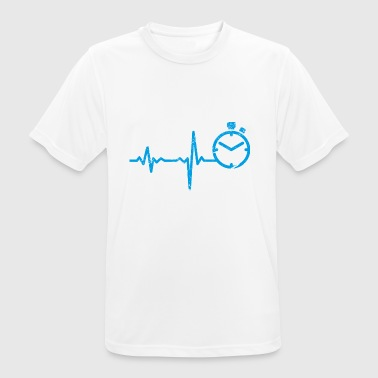 Regalo Heartbeat Sprint Atletismo - Camiseta hombre transpirable