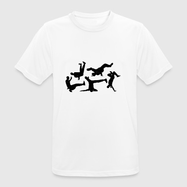break dance - T-shirt respirant Homme
