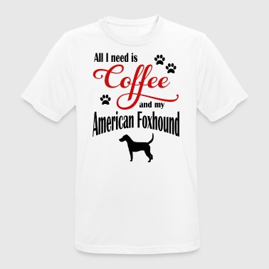 American Foxhound Coffee - Männer T-Shirt atmungsaktiv