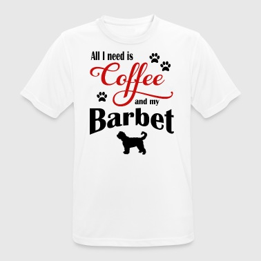 Barbet Coffee - Men's Breathable T-Shirt