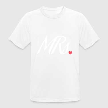 Mrs. - Misses - Men's Breathable T-Shirt