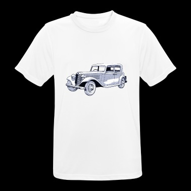 Collectie oldtimers - mannen T-shirt ademend