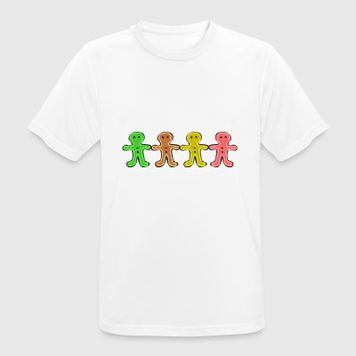 Gingerbread man - Men's Breathable T-Shirt