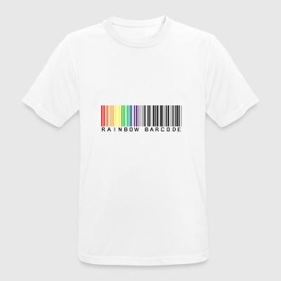 Rainbow barcode - Men's Breathable T-Shirt