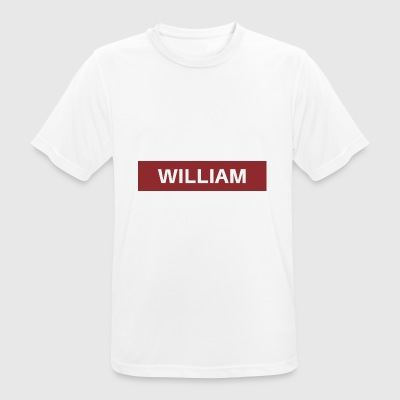 William - Männer T-Shirt atmungsaktiv