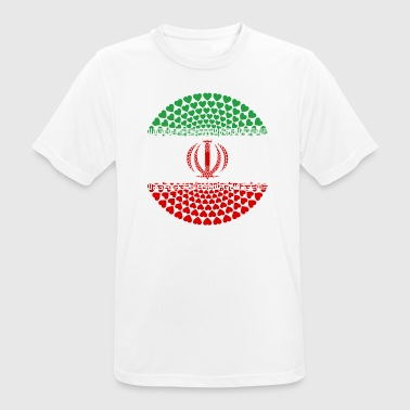 IRAN HEART Iran ايران Īrān Persia - Men's Breathable T-Shirt