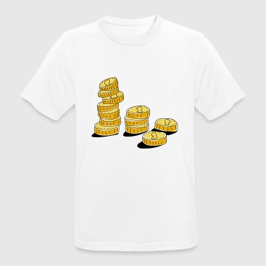 Money coins - Men's Breathable T-Shirt