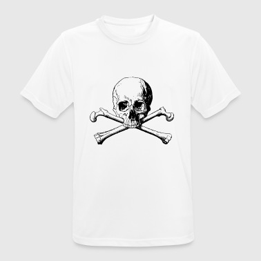 Skull and bones - Men's Breathable T-Shirt