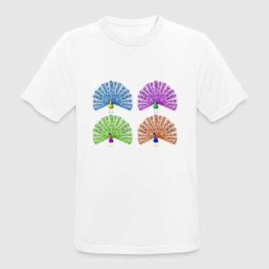 peacock - Men's Breathable T-Shirt