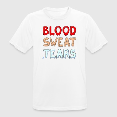 Blood, Sweat & Tears - mannen T-shirt ademend