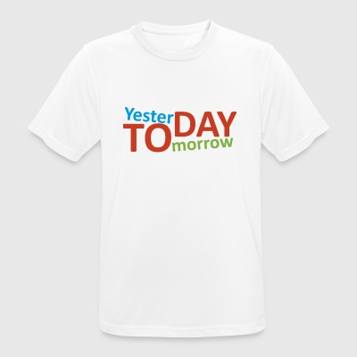 Yesterday, today, tomorrow - Men's Breathable T-Shirt