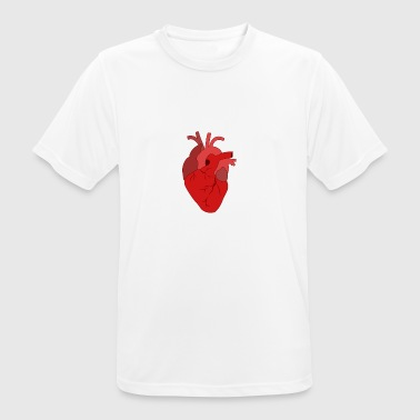 Heart heart attack organ pump blood doctor medicine - Men's Breathable T-Shirt