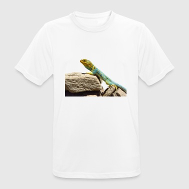 gecko lizard real lizard - Men's Breathable T-Shirt