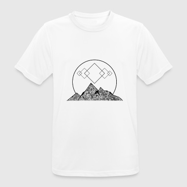 GeoMountains - Herre T-shirt svedtransporterende