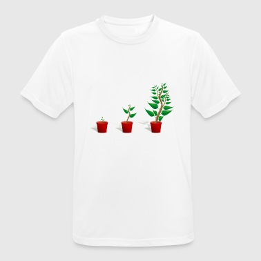 Plant growth - Men's Breathable T-Shirt