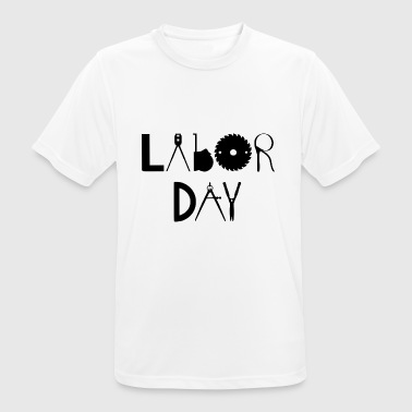 Labor Day - Herre T-shirt svedtransporterende