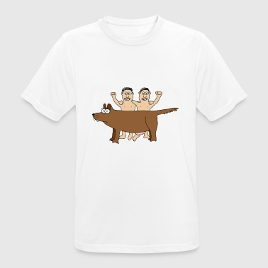 Romulus & Remus Twins Wolf Rome Brothers Italy - Men's Breathable T-Shirt