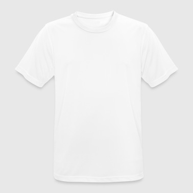 Bowling one finger in each hole Gift idea - Men's Breathable T-Shirt