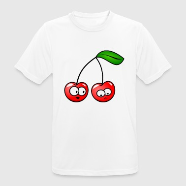 Thoughtful cherries gift idea - Men's Breathable T-Shirt