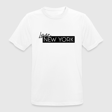Love NEW YORK by HermzCollection - Men's Breathable T-Shirt